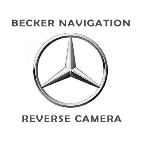 Mercedes Becker Navigation Reverse Camera