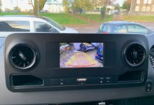 New Mercedes Sprinter Reverse Camera