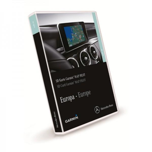 Mercedes Garmin Map Pilot SD Card